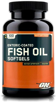 Optimum Nutrition Fish Oil Softgels (100caps)
