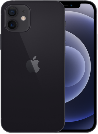 iPhone 12 64gb Black - Ростест