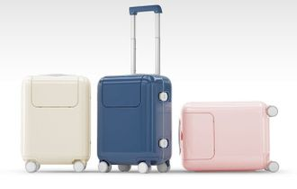 "Чемодан Xiaomi 17"" дюймов Mitu Rice rabbit trolley case розовый"