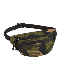 Burton Hip Pack Martini Olive Woodcut Palm в магазине Bagcom