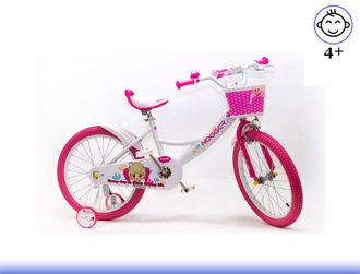 Велосипед HOGGER 16 White Kiddy-bikes