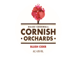 Blush Cider, Cornish Orchards