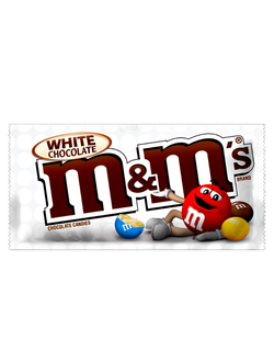 Драже M&ms White Chocolate с белым шоколадом