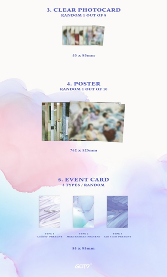 GOT7 album PRESENT : YOU