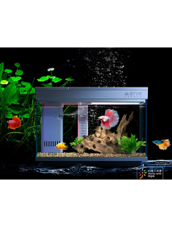 Аквариум умный Xiaomi Geometry AI intelligent modular fish tank 15L