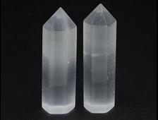 Селенит, кристалл полированный в ассортименте, Канада (75-78*24*19 мм, 58 г) №20204