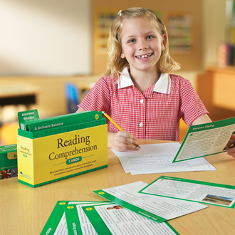 Reading Comprehension Cards Bundle