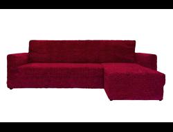 Чехлы Модерн на угловые диваны с выступом справа турецкого производства