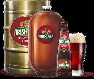 Пиво Ирландский Эль 0,5 л, 1 бут.