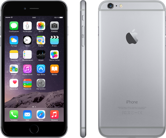 Купить iPhone 6 16Gb Space Gray LTE