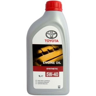 Моторное масло Toyota Engine Oil 5W-40 1л