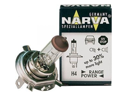 Лампа H4 12V 6055W P43t +30% Range power Narva 48878