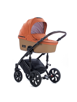 Универсальная коляска Tutis Zippy Viva Life (2 в 1) Цвет Коричневато-оранжевый/КожаТемно-песочный