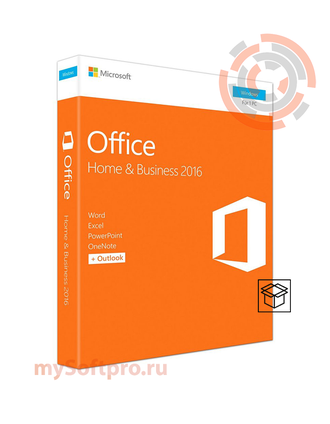 Microsoft Office 2016 Home and Business 32/64 English CEE Only DVD P2 T5D-02710