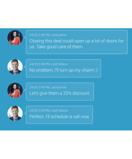 Collaboration & Messaging in CRM