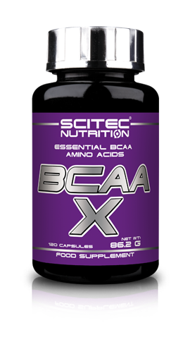 BCAA-X Scitec Nutrition 120 капсул