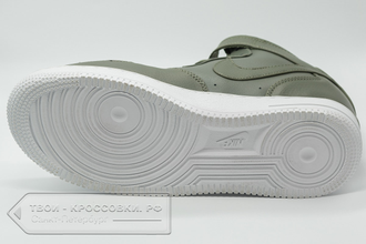 15f9e3b5 Кеды Nike Air Force 1 Mid 07 женские/мужские оливковые арт. N89