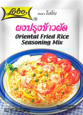 ผงปรุงข้าวผัด/Oriental Fried Rice Seasoning Mix (Lobo) 25g