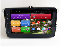 "Автомагнитола MegaZvuk AD-8089 Volkswagen на Android 4.4.2 Quad-Core (4 ядра) 8"" Full Touch"