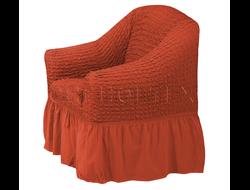 Чехол Стандарт на кресло, цвет Терракот