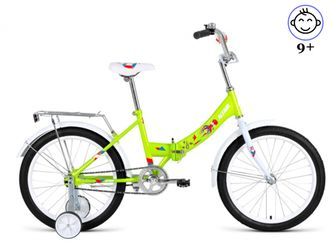 "ALTAIR CITY KIDS Compact 20"" (зеленый) Kiddy-Bikes"