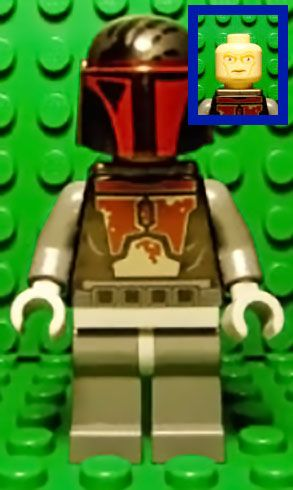 # 1 MANDALORIAN SUPERCOMMANDO (Surprised Glance).