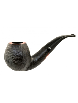Трубка STANWELL BRUSHED Black Rustico 185