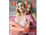 VOGUE BRITISH February 2018 Nicole Kidman, Margot Robbie Cover Женские журналы, Intpressshop