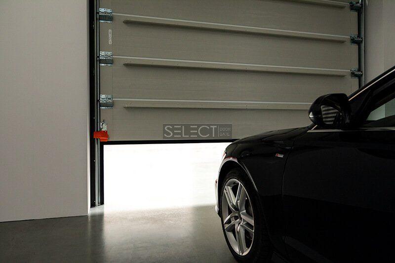 секционные гаражные ворота - теплые энергоэффективные конструкции для паркоместа