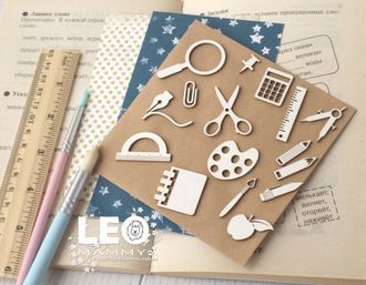 LM-SH08 - набор школьных предметов