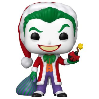 Купить Фигурка Funko POP! Vinyl: DC: Holiday: Santa Joker 51071