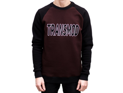 Свитшот TRANSMOD, Brown/Black