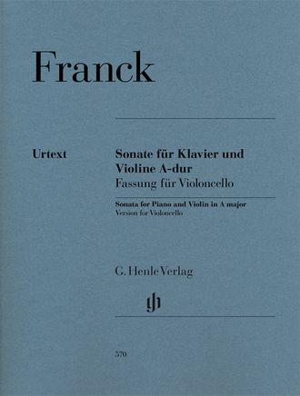 Franck Sonata A major, Version for Cello and Piano