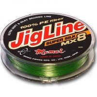 Шнур JigLine Super Silk 0,10мм 7,8кг 100м хаки