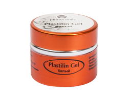 Гель-пластилин Planet Nails - Plastilin Gel белый 5г