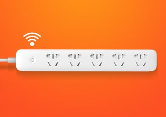 Удлинитель Xiaomi Mi Power Strip Wi-Fi 5 белый
