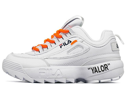FIla Disruptor 2 OFF-WHITE Белые(35-40)