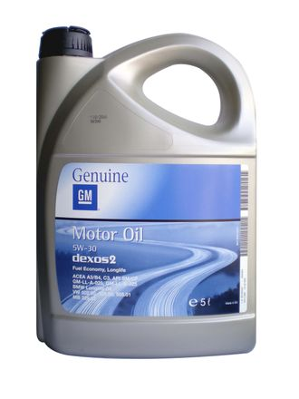 General Motors Motor Oil Dexos2  5W30  (5л)