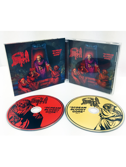 DEATH Scream Bloody Gore 2-CD Deluxe