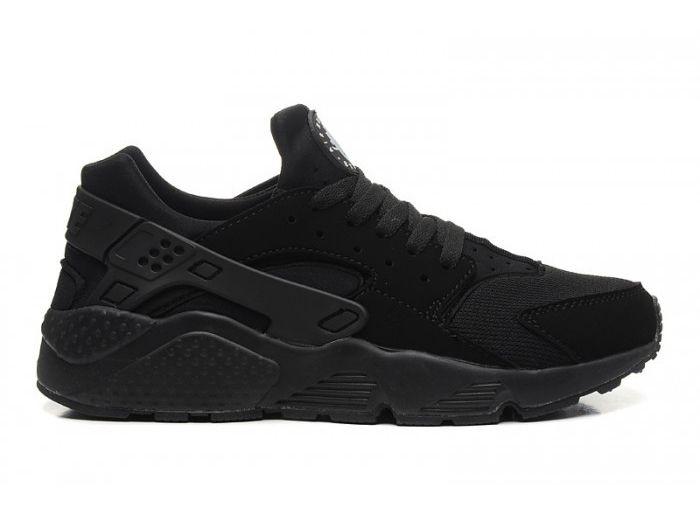 204efa0f Купить кроссовки Nike Air Huarache Triple Black с дисконтом    Интернет-магазин Черные Найк Эйр Хуарачи в Москве