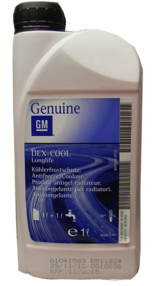 GM Dex-Cool Antifreeze Longlife 1л