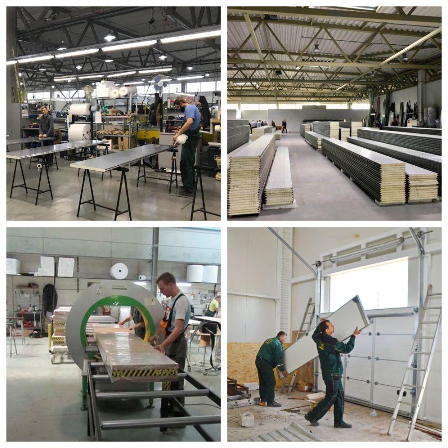 завод производитель автоматических гаражных и промышленных ворот в Киеве