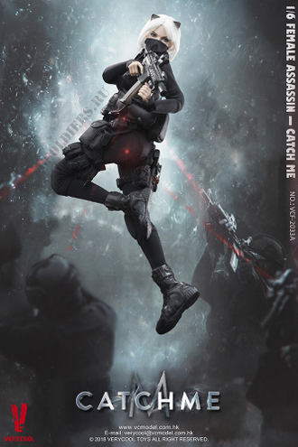 "КОЛЛЕКЦИОННАЯ ФИГУРКА 1/6 scale Female Assassin Series First Bomb — ""Catch Me"" (VCF2033B) - VERYCOOL"