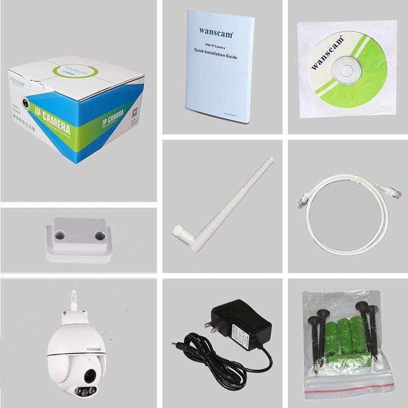 Комплектация уличной Wi-Fi IP-камеры Wanscam HW0054 (Full-HD)_gsmohrana.com.ua