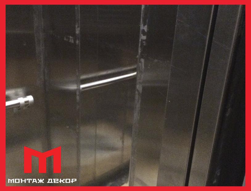 Реставрация лифта новой пленкой