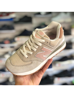 NEW BALANCE 574 BIEGE ROSE ЖЕНСКИЕ