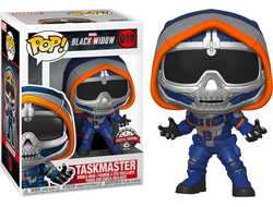 Купить Фигурку Funko POP! Bobble: Marvel: Black Widow: Taskmaster w/claws (Exc) 46688