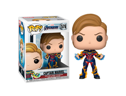 Купить Фигурку Funko Pop Фанко Поп Marvel: Avengers End Game: Captain Marvel w/New Hair