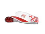 SPIDERWEB ULTRALIGHT VISOR Red White