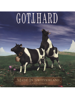 Gotthard - Made In Switzerland - Live In Zurich 2-LP